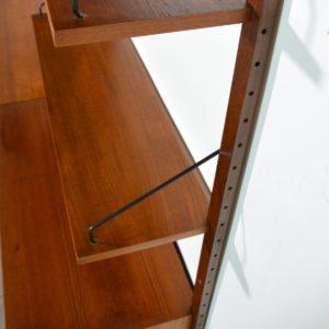 Royal Système d'étagères modulable : wall units Poul Cadovius teck ak