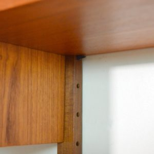 Royal Système d'étagères modulable : wall units Poul Cadovius teck q