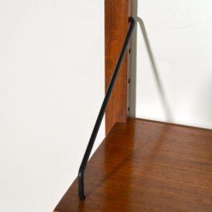 Royal Système d'étagères modulable : wall units Poul Cadovius teck r