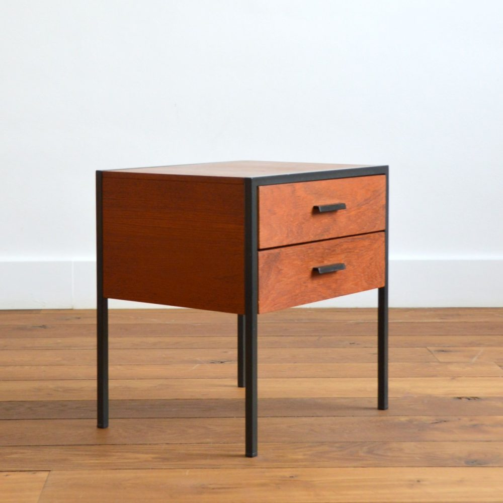 Table de chevet / table d'appoint vintage Pastoe 1960s