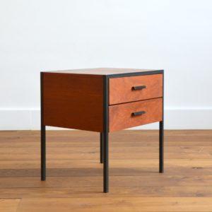 Chevet : Table d'appoint Cees Braakman par Pastoe teck 1960 vintage 7