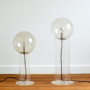 Paire de lampe de sol années 70 vintage 5