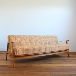Canapé : Daybed : Sofa scandinave 1960 vintage 1