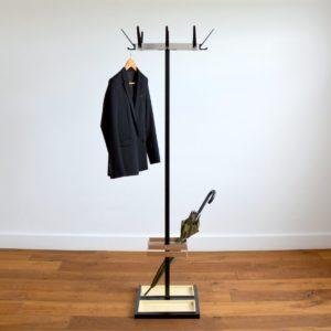 Porte-manteaux : porte-parapluie 1950 vintage 1