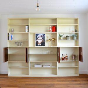 Wall unit : Bibliothèque 1970s vintage WK Möbel 29