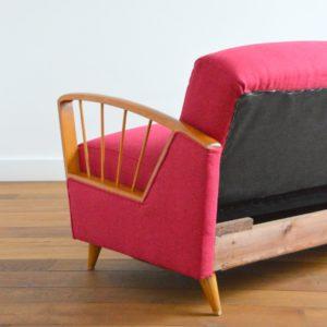 Daybed : Canapé scandinave années 50 – 60 vintage 45