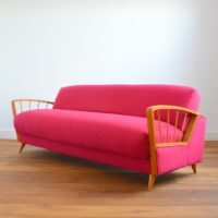 Canapé / Daybed Vintage 1950 / 1960s