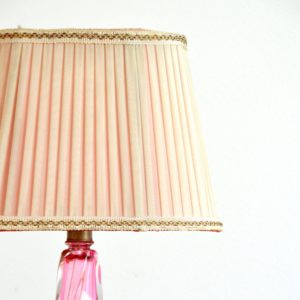 Lampe de table en cristal Val St. Lambert 1960 vintage 10