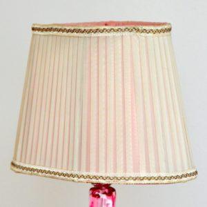 Lampe de table en cristal Val St. Lambert 1960 vintage 13