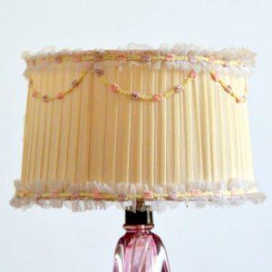 Petite lampe Val Saint Lambert 1960 vintage 26