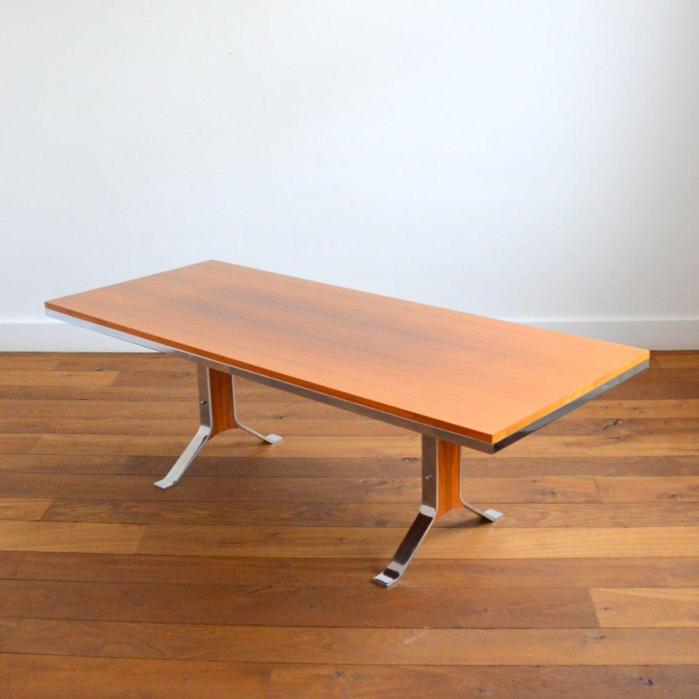Table Transformable / Table basse / Table à manger / Bureau Design Scandinave années 60 / 70