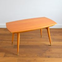 Table Transformable / Table basse / Table à manger vintage 1950s