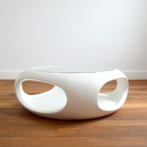 Table basse space age Ufo design 1970 Luigi Colani vintage 28