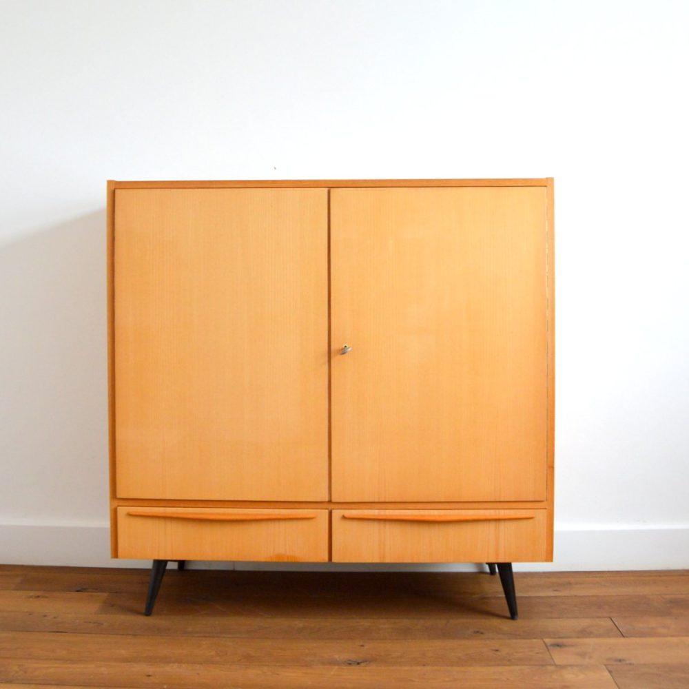 Armoire Design Tchèque vintage 1960s