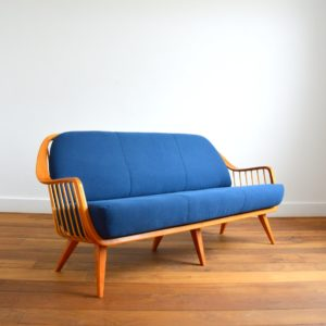 Canapé : Sofa Walter Knoll scandinave 1960 vintage 21