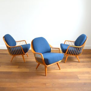 Fauteuil : Easy chair Walter Knoll scandinave 1960 vintage 11