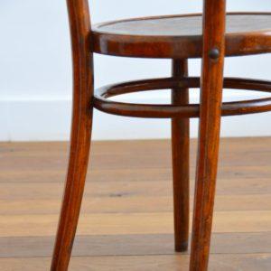 4 chaises bistrot Baumann vintage 28