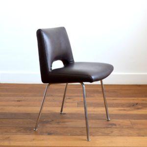 Chaise de bureau – conférence 1950 vintage 22