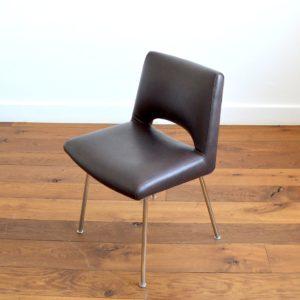 Chaise de bureau – conférence 1950 vintage 4