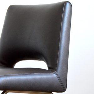 Chaise de bureau – conférence 1950 vintage 7