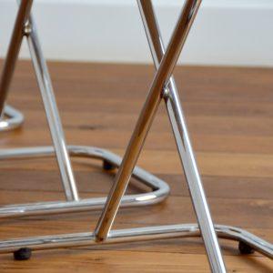 Chaises vintage 1950 design 14