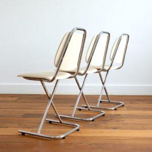 Chaises vintage 1950 design 28