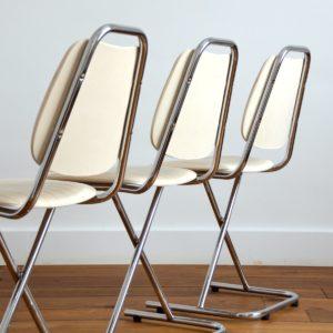 Chaises vintage 1950 design 30