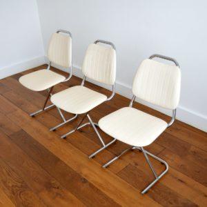 Chaises vintage 1950 design 5