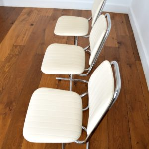 Chaises vintage 1950 design 7