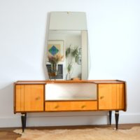 Coiffeuse design années 50 / 60 rockabilly vintage