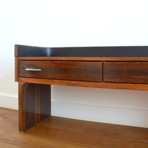 Enfilade – commode – console placage palissandre 1970 vintage 38