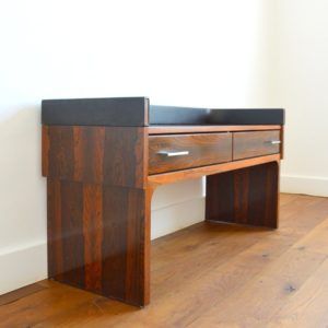 Enfilade – commode – console placage palissandre 1970 vintage 39
