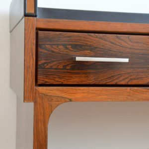 Enfilade – commode – console placage palissandre 1970 vintage 43