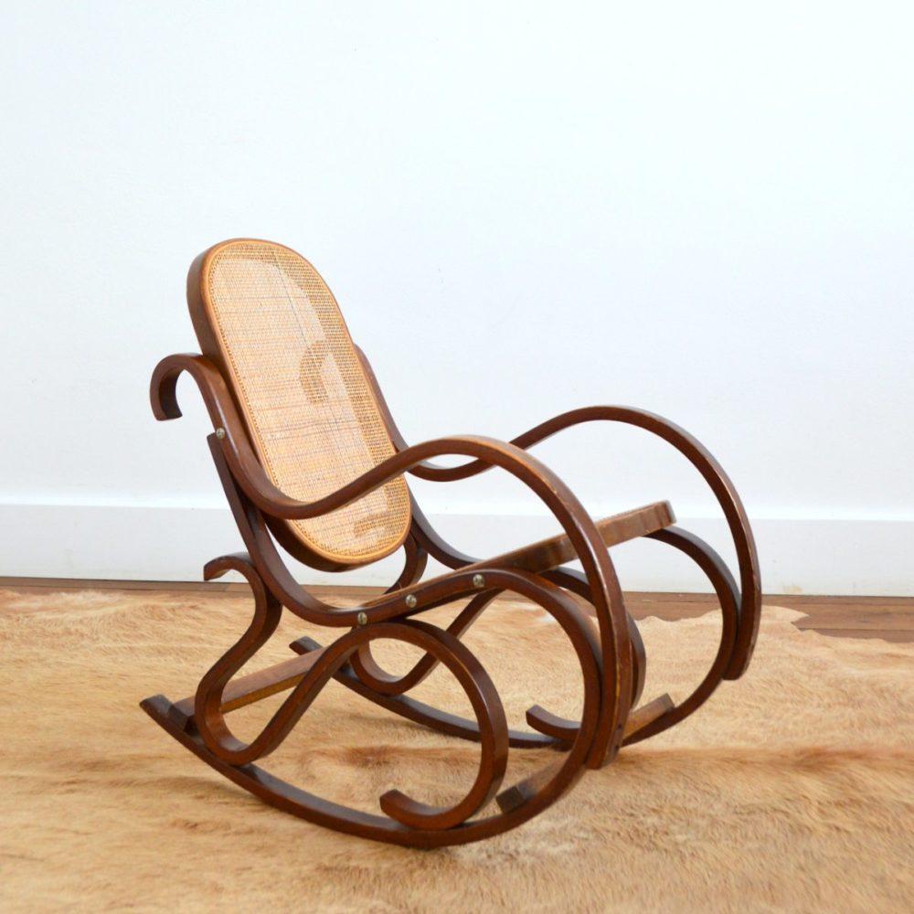 Rocking chair / Fauteuil à bascule enfant Thonet