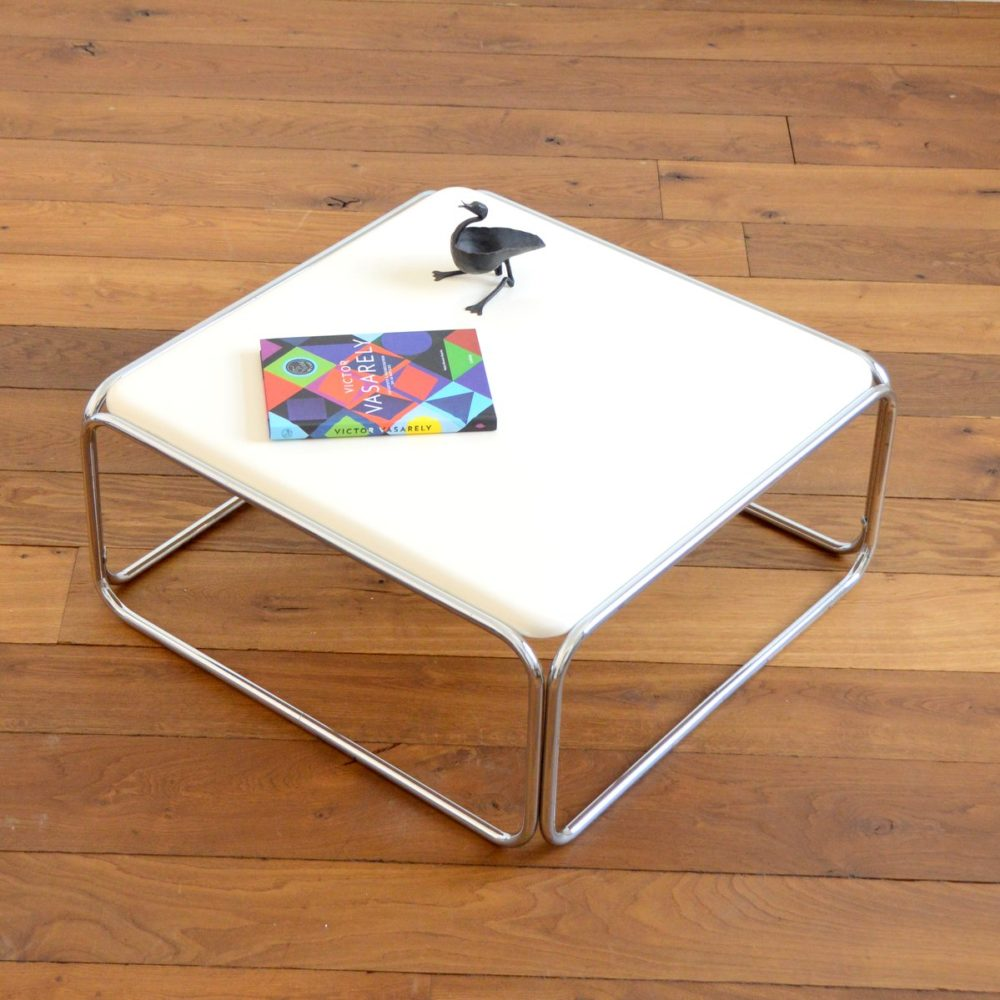 Table basse space age vintage 1960s