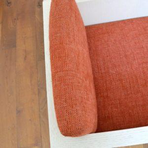 ensemble cubique salon : fauteuil de repas 1980 vintage 16