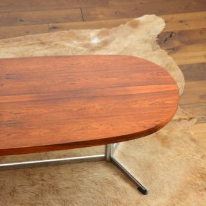 Table basse : coffee table scandinave design Danois palissandre 1960 vintage 10