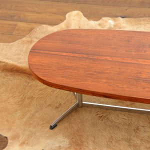 Table basse : coffee table scandinave design Danois palissandre 1960 vintage 9