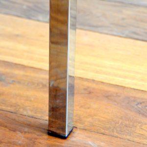 Table basse marbre et chrome années 60 : 70 vintage 29