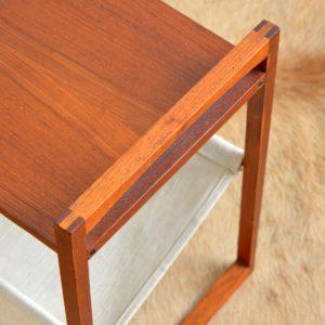Table porte revues Kai Kristiansen teak 1960 vintage 13