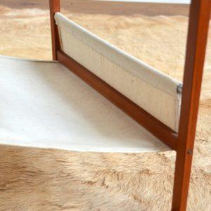 Table porte revues Kai Kristiansen teak 1960 vintage 31
