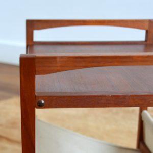 Table porte revues Kai Kristiansen teak 1960 vintage 32