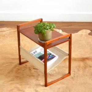 Table porte revues Kai Kristiansen teak 1960 vintage 8