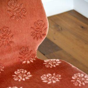 4 chaises Louis van Teeffelen teck 1960 vintage 51
