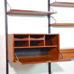 Bibliothèque : Wall unit Poul Cadovius scandinave 1960 vintage 4