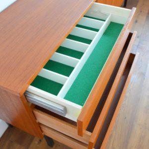 Enfilade : Buffet Musterring 1970 teck vintage 9