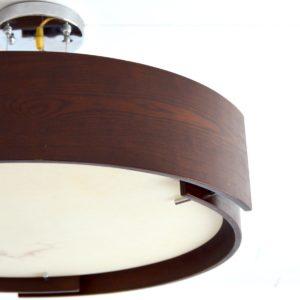 Lustre Italien : Italian lamp 1970 vintage 12