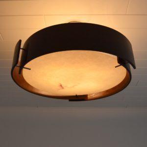 Lustre Italien : Italian lamp 1970 vintage 18