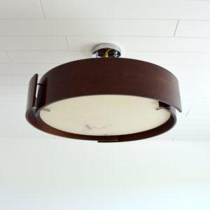 Lustre Italien : Italian lamp 1970 vintage 7
