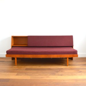 Canapé : Daybed : Sofa Hans J. Wegner pour GETAMA 1960 scandinave vintage d